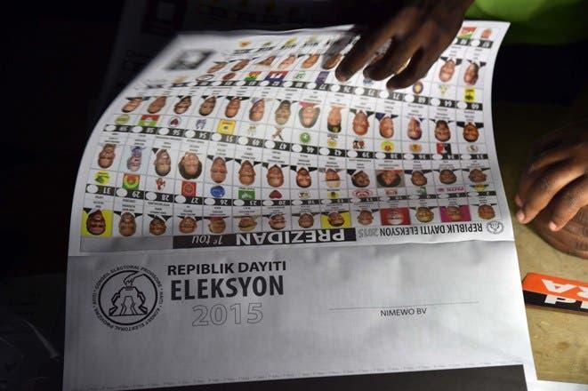 Haití candidatos