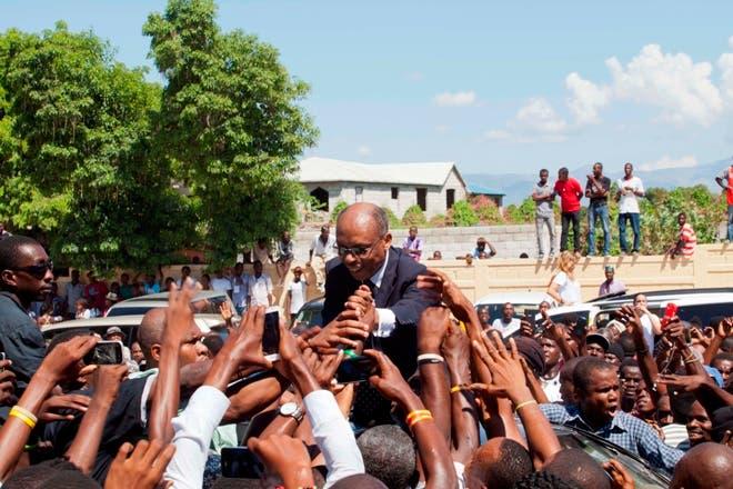 Jean-Bertrand Aristide sigue teniendo apoyo en Haití