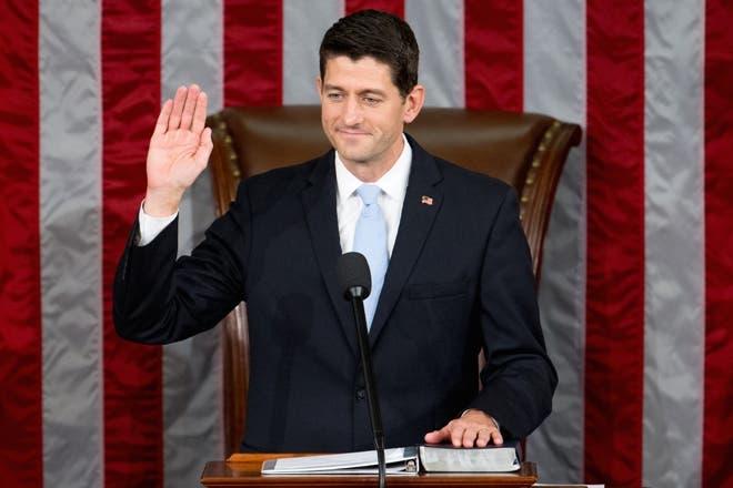 El republicano Paul Ryan, elegido nuevo presidente de la Cámara baja de EE.UU.