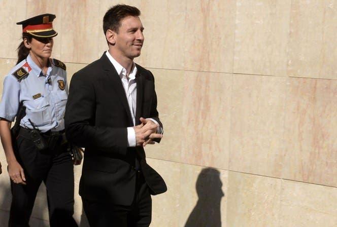 Messi va a juicio por evasión; piden 22 meses de cárcel