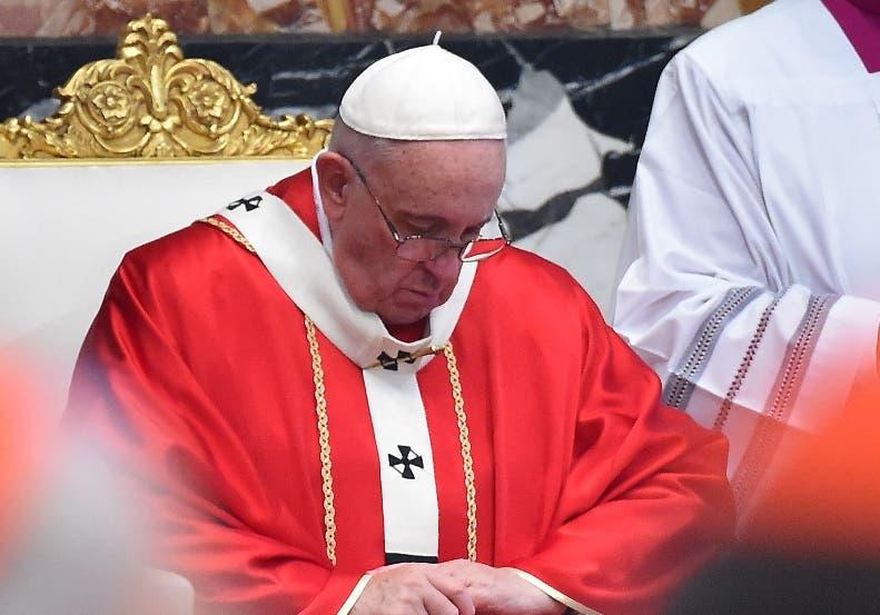 El papa Francisco presidirá el  Via Crucis.