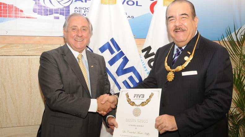 FIVB reconoce  labor de Marte