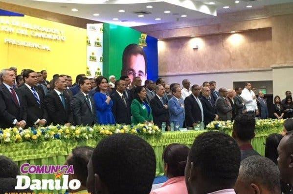 PAL proclama a Danilo Medina como candidato presidencial