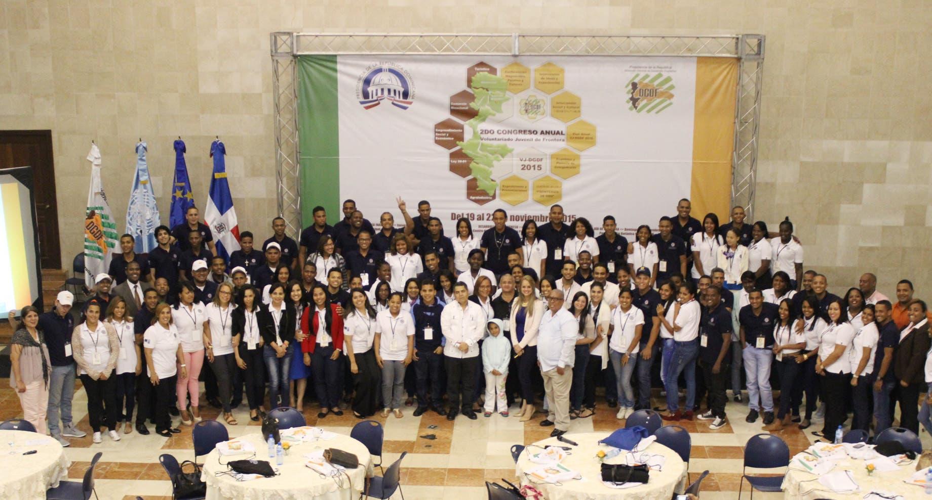 Segundo Congreso del Voluntariado Juvenil dice necesidad políticas en comunidades de la zona fronteriza