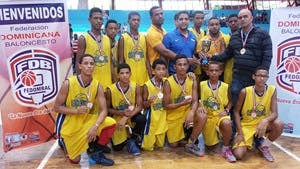 Equipo de Moca, campeón en nacional de Básquet Sub-15