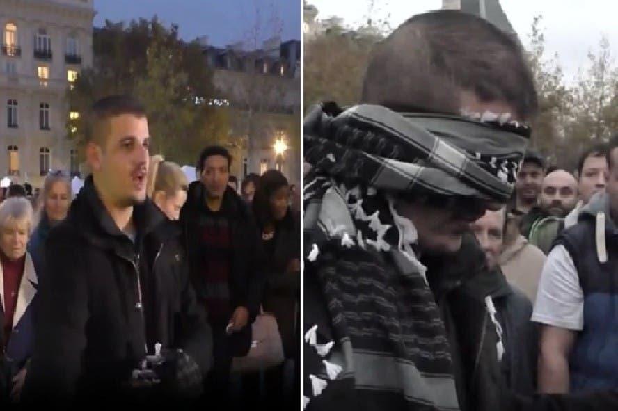 """""""Soy musulmán y eso no me hace terrorista"""": joven pide abrazo a parisinos y así reaccionan"""