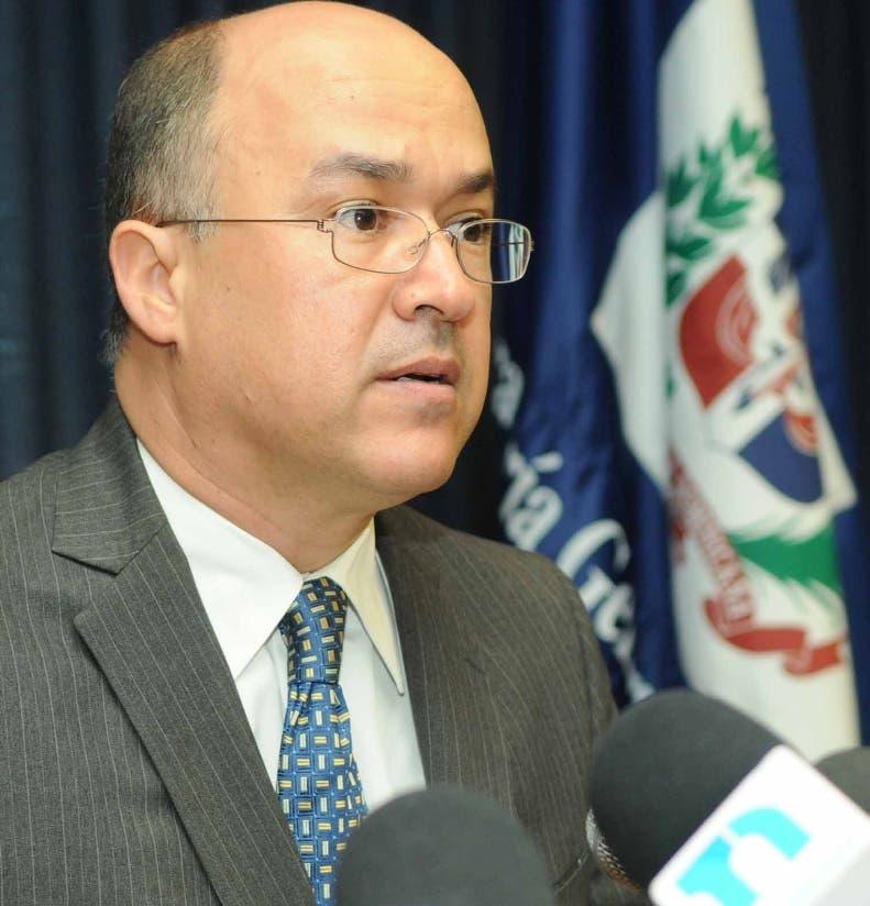 El procurador Francisco Domínguez Brito. Hoy/ Fuente externa 13/11/2012