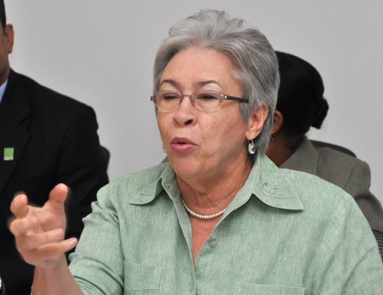La ministra de Salud, Altagracia Guzmán Marcelino. Foto de archivo