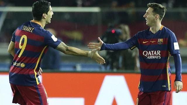Messi y Luis Suárez, máximos goleadores históricos del Mundial de Clubes