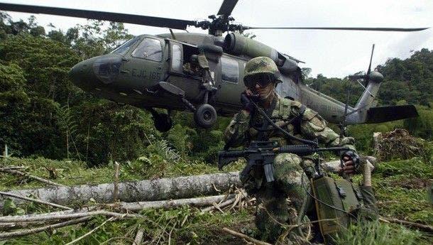 Capturan presunto guerrillero colombiano en Ecuador