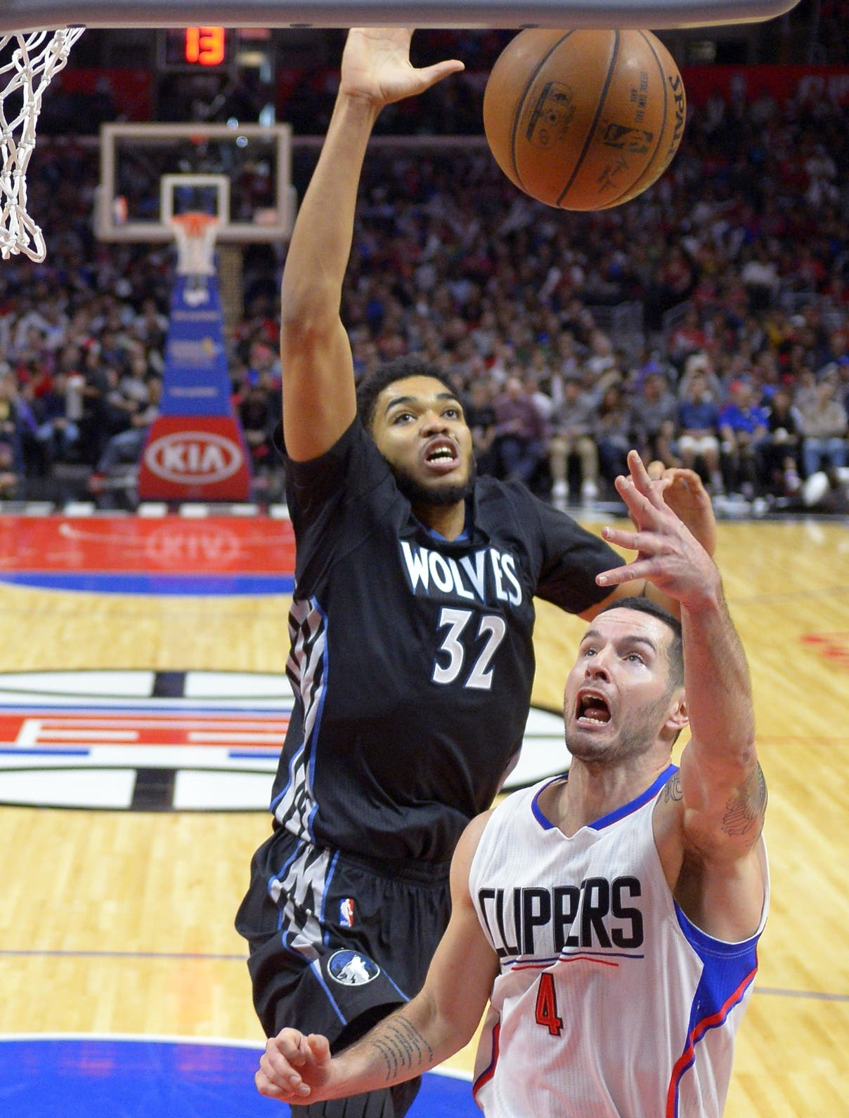 J.J. Redick, Karl-Anthony Towns