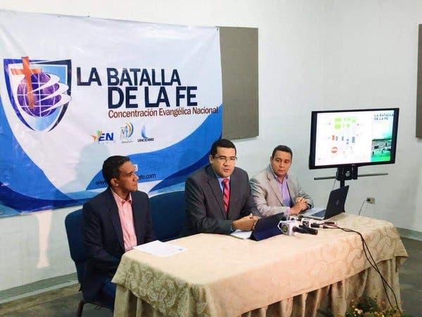 El pastor Ezequiel Molina Sánchez ofreció los detalles durante una rueda de prensa.