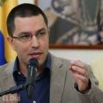 Jorge Arreaza, ministro de Relaciones Exteriores de Venezuela.