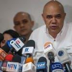 Jesús Torrealba, secretario ejecutivo de la de la Mesa de la Unidad Democrática (MUD). Foto de archivo.