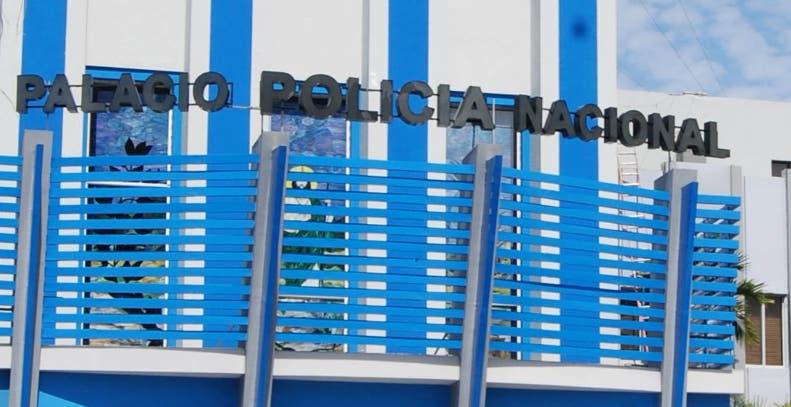Fachada del Palacio de la Policía Nacional. Hoy/ Aracelis Mena.