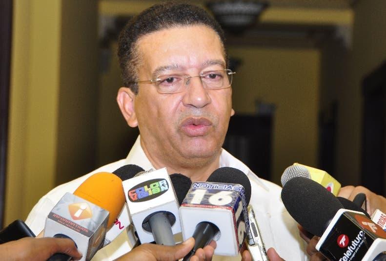 El Serectario de la Liga Municipal Dominicana Jonny Jhon