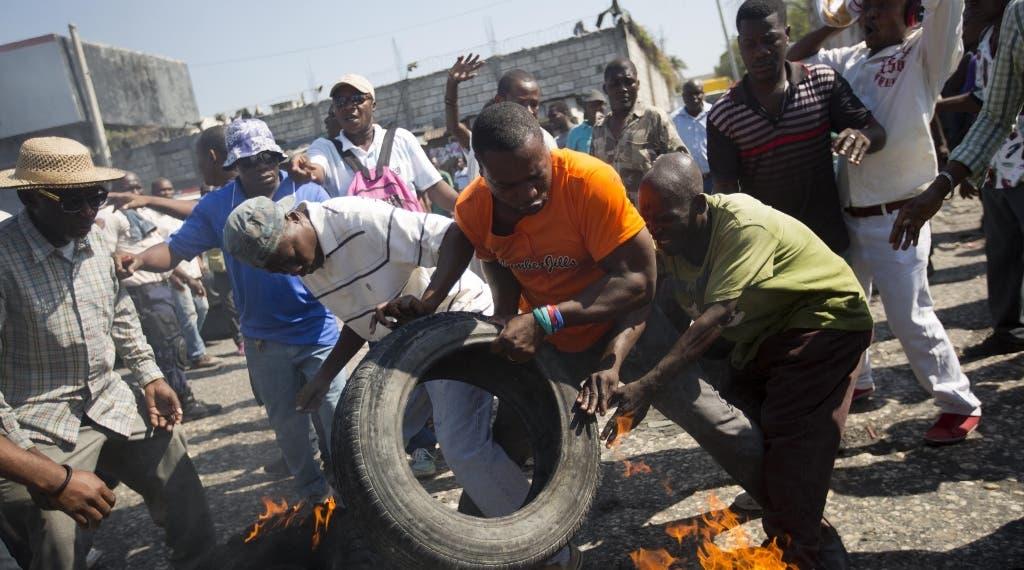 Haití vive en sus calles una situación convulsa tras varios  días consecutivos de violencia ante la proximidad de elecciones.