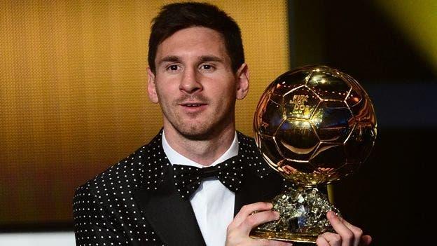 Lionel Messi gana el Balón de Oro por quinta vez