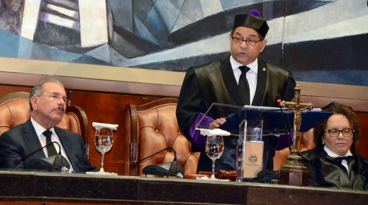 Con la asistencia del presidente Danilo Medina se Celebró el dia del poder judicial,en la suprema corte de justicia/foto José de León