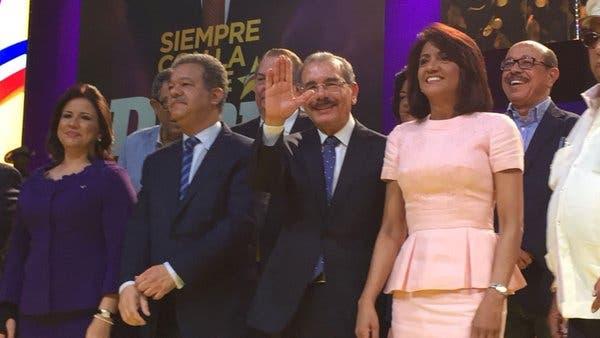 Leonel Fernández despeja dudas al asistir a proclamación de Danilo Medina