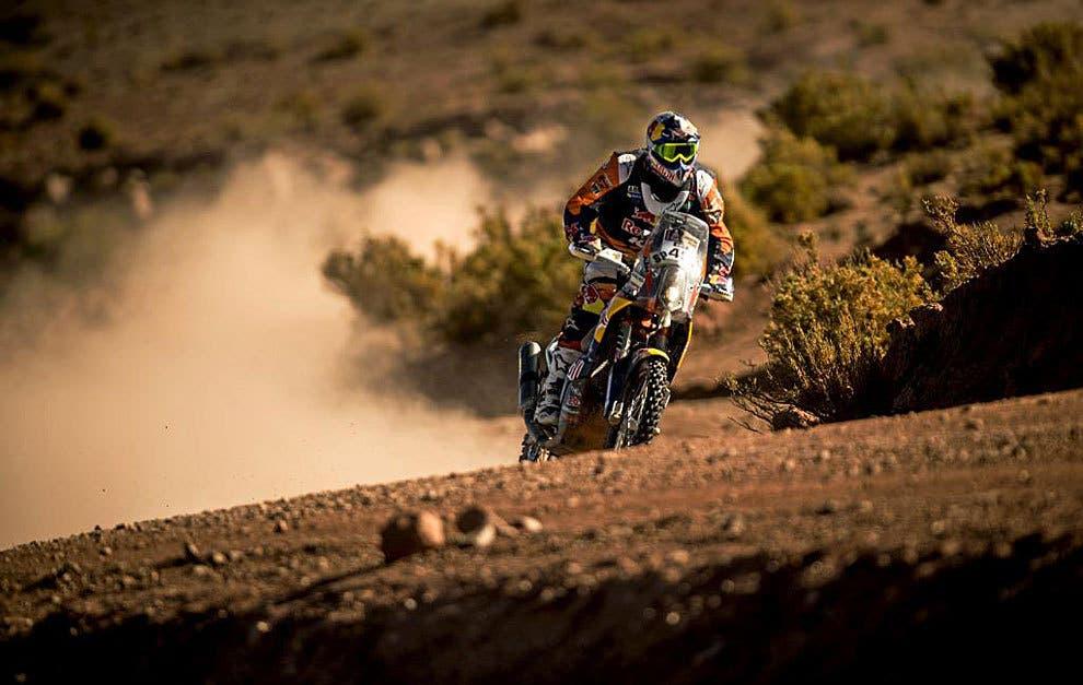 Antoine Meo gana 7ma etapa del Dakar en motos