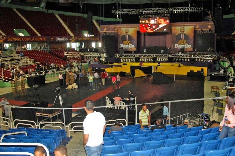 PLD afirma todo está listo para acto de proclamación Danilo Medina