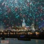 Habitantes de Rusia recibieron el 2016 primero que en muchas partes del mundo.