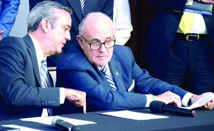 Giuliani plantea enfrentar la corrupción desde altas esferas