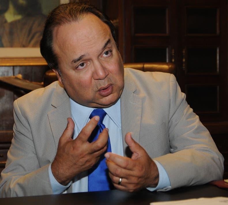 Vinicio Castillo Semán, dirigente de la Fuerza Nacional Progresista (FNP).
