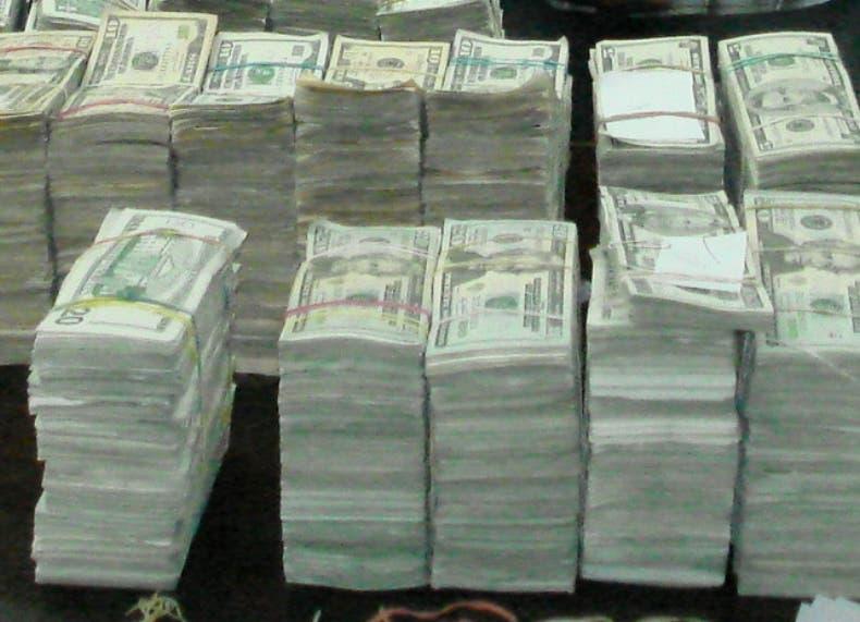 Decomiso de dolares M. de G. Fuente Externa
