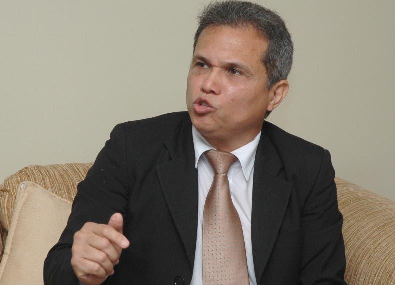 Waldo Ariel Suero , presidente del Colegio Médico Dominicano. Foto de archivo.
