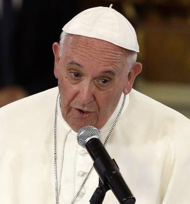 El papa asegura que la hospitalidad es la mayor seguridad contra terrorismo