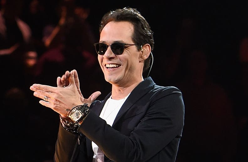 NEW YORK, NY - FEBRUARY 06: Marc Anthony performs onstage at Madison Square Garden on February 6, 2016 in New York City.   Jamie McCarthy/Getty Images/AFP == FOR NEWSPAPERS, INTERNET, TELCOS & TELEVISION USE ONLY ==