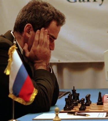 Gary Kasparov vs Deep Blue, de IBM.