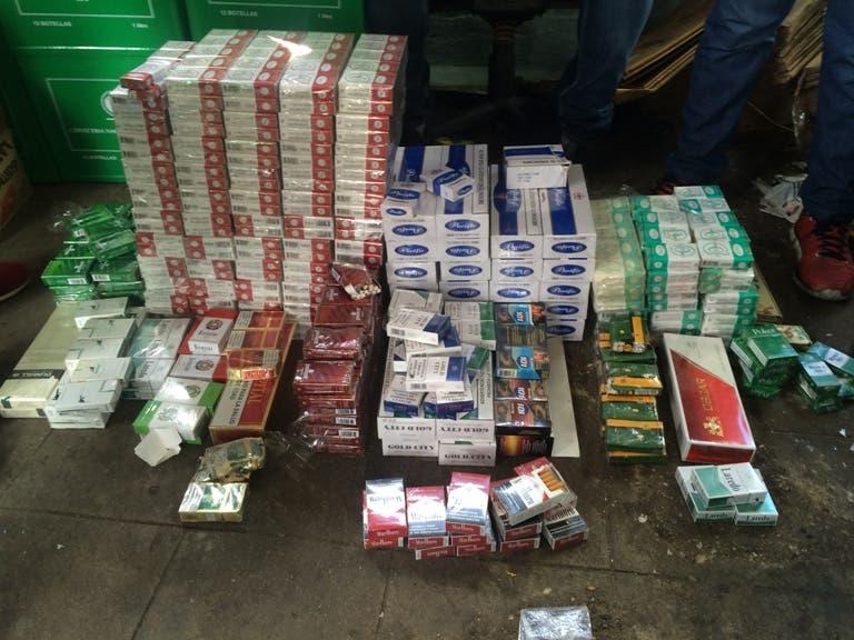 Desmantelan depósito de mercancías contrabandeadas y adulteradas en Villa Consuelo