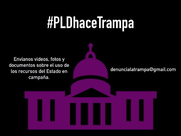 Alianza País pide a ciudadanía reportar por redes uso fondos públicos en campaña de Danilo y PLD