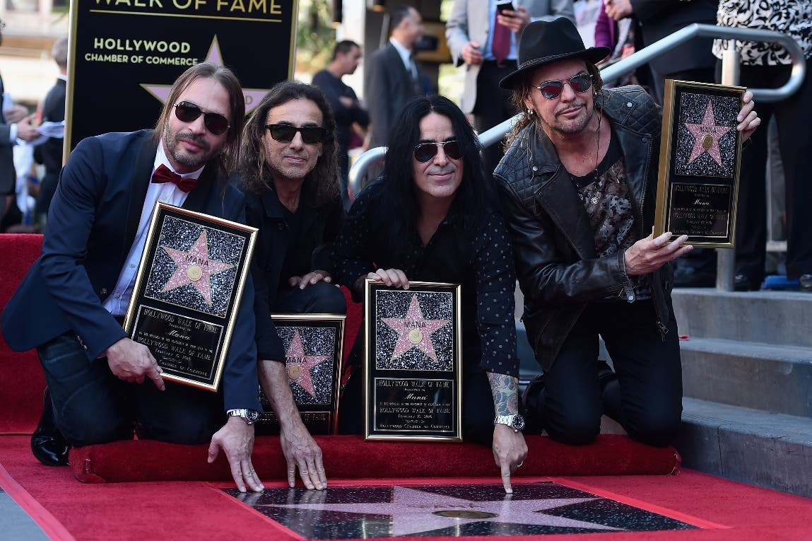 Mana Honored With Star On The Hollywood Walk Of Fame