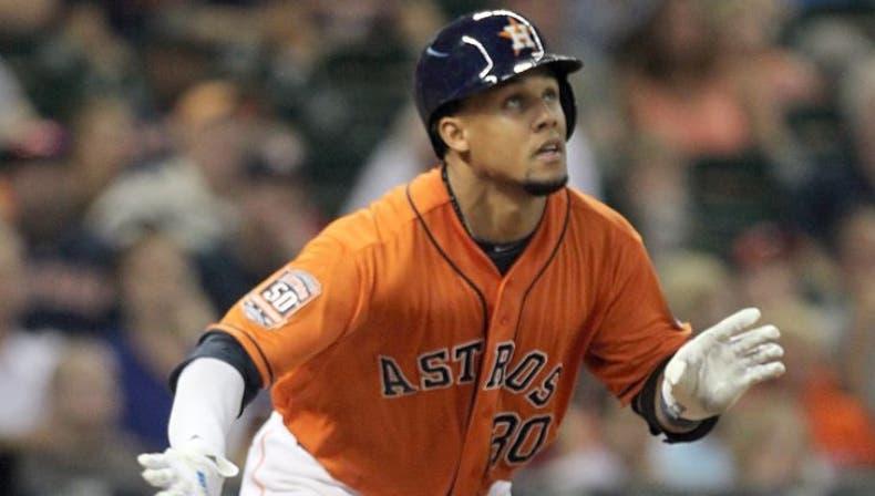 """Gómez preocupa a Astros por """"swings"""""""