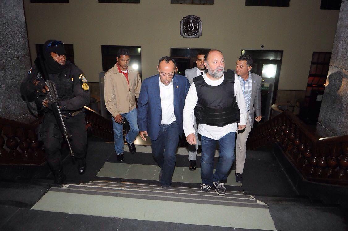 Francés Christophe Naudin llegó a República Dominicana extraditado desde Egipto