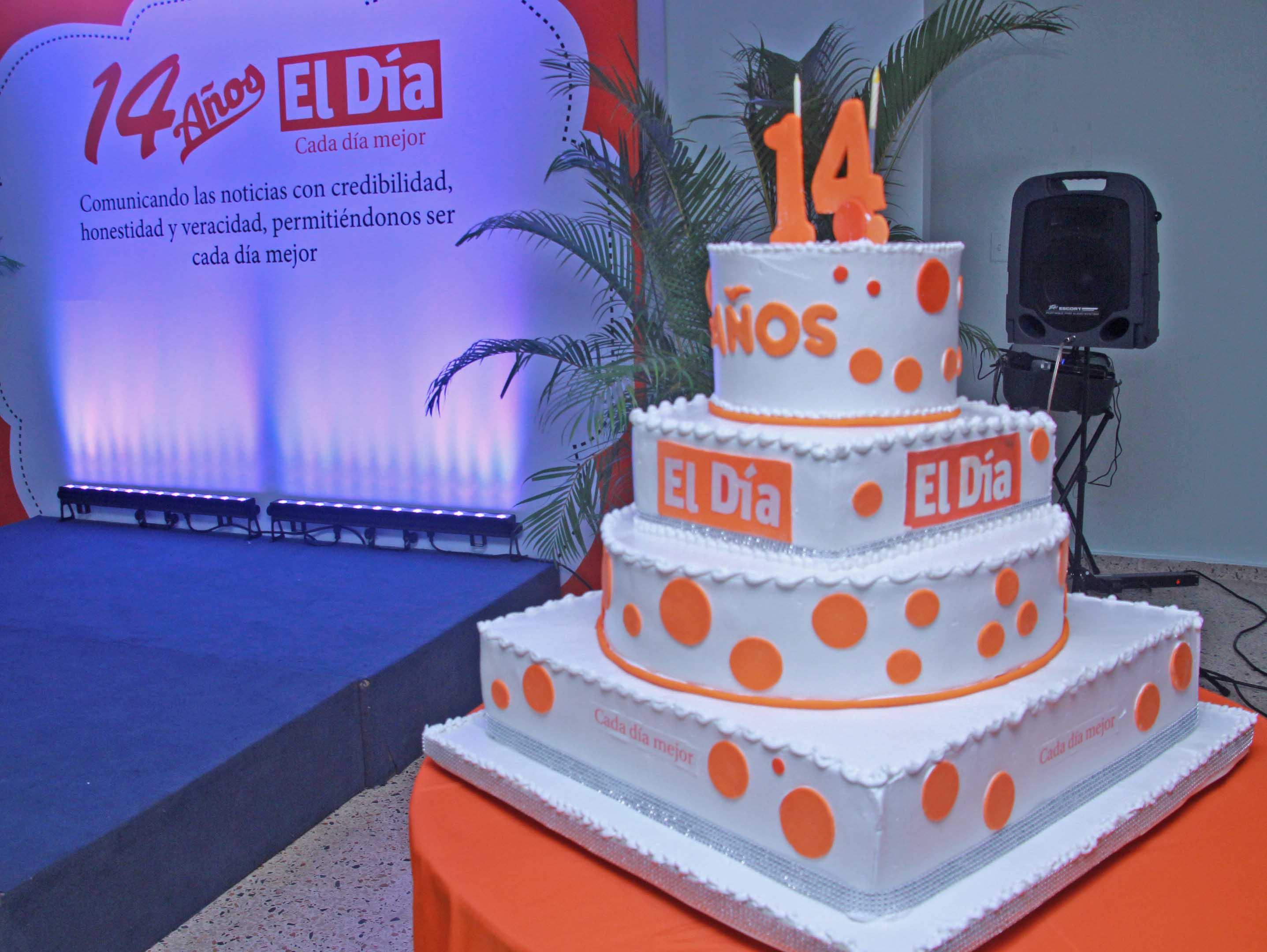 Celebracion del 14 aniversario periodico El Dia. Foto: Elieser Tapia.