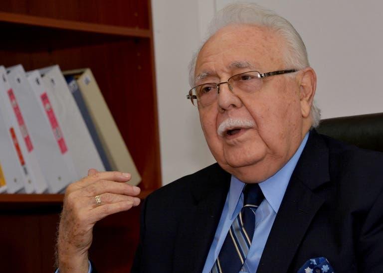 Antonio Isa Conde lamentó que la asociación empresarial a la que ha dedicado décadas de trabajo con aportes constructivos haya caído en posiciones radicales que la aíslan. Fuente Externa