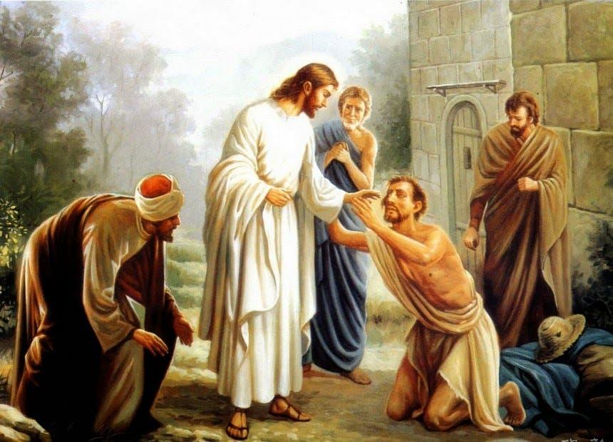 JESÚS - CURA AL CIEGO