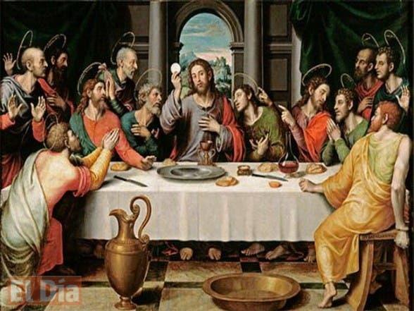 MÉDITATIONS CHRÉTIENNES POUR TOUTE L`ANNÉE - Pere Buse`e - Cie de Jésus - année 1708 La-%C3%9Altima-Cena-588x441