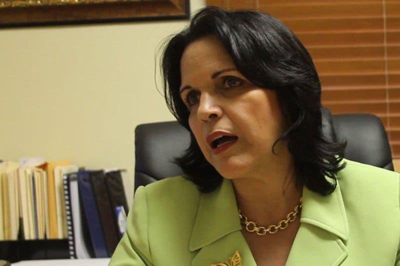Minou Tavárez Mirabal, presidenta de  Opción Democrática.