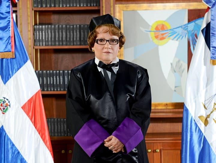 Jueza Miriam Germán Brito pide no ser considerada para ventilar caso Odebrecht