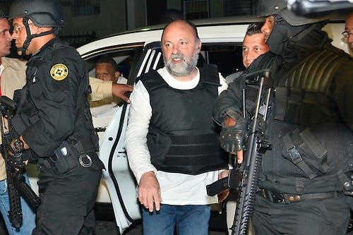 El francés Christophe Naudin está implicado en la fuga de dos pilotos franceses, que están condenados por narcotráfico.