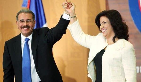 Danilo Media y Margarita Cedeño