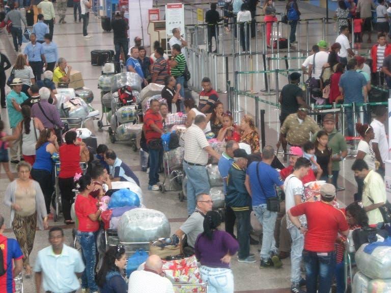 Flujo de pasajeros aumentó 4.4% elaño pasado