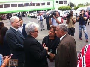 La Ministra de Salud se reunió con una comisión de CMD. Foto: Dayana Acosta.