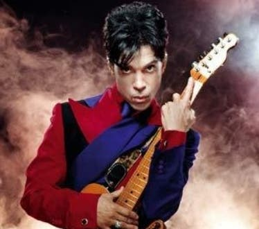 Alegria. El cantante Prince. 08.02.2009. Fuente Externa